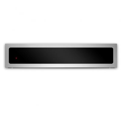 Gaveta Aquecida La Germania Futura – 60cm – Cristal Negro